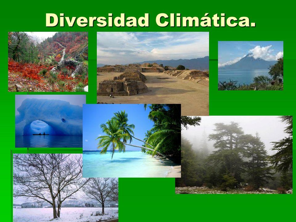 Diversidad Climática.