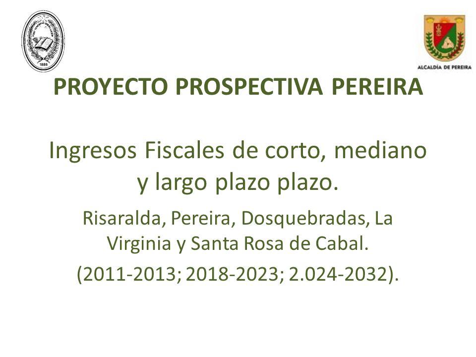 Risaralda, Pereira, Dosquebradas, La Virginia y Santa Rosa de Cabal.