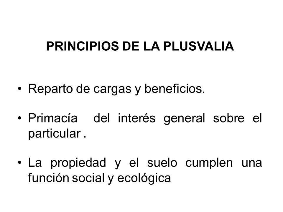 PRINCIPIOS DE LA PLUSVALIA