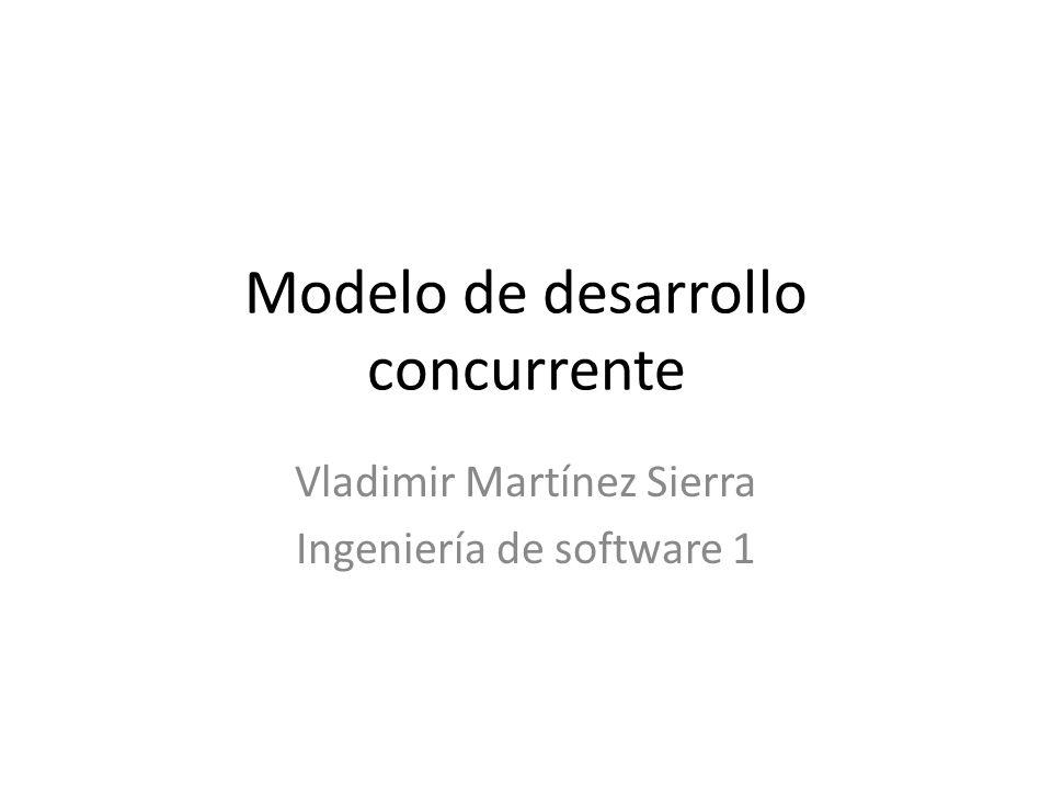 Modelo de desarrollo concurrente