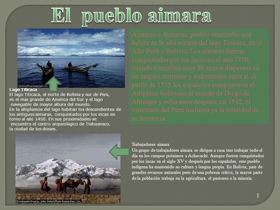 Lago Titicaca El lago Titicaca, al norte de Bolivia y sur de Perú, es el más grande de América del Sur y el lago.