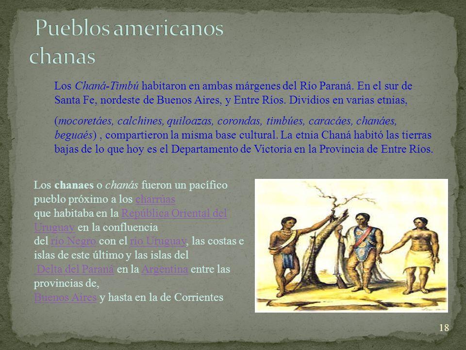 Pueblos americanos chanas