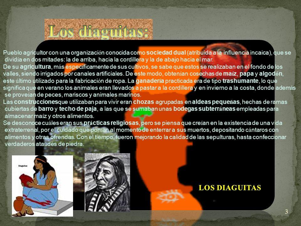 Los diaguitas: Los diaguitas