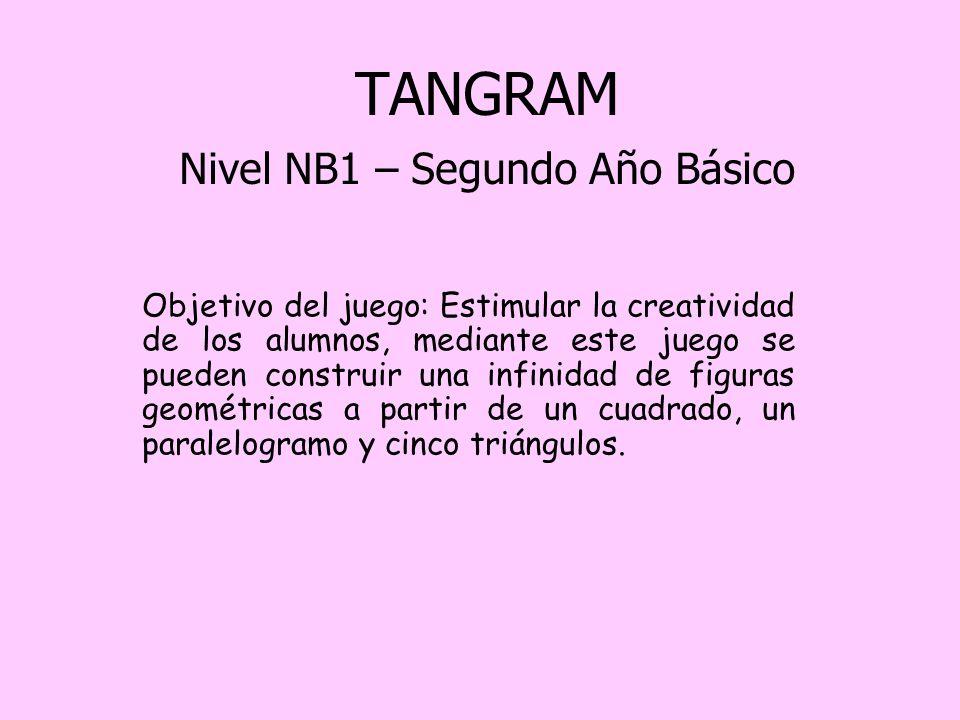 TANGRAM Nivel NB1 – Segundo Año Básico