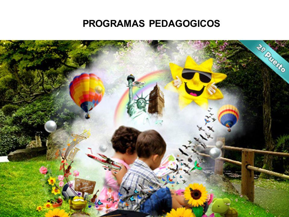 PROGRAMAS PEDAGOGICOS