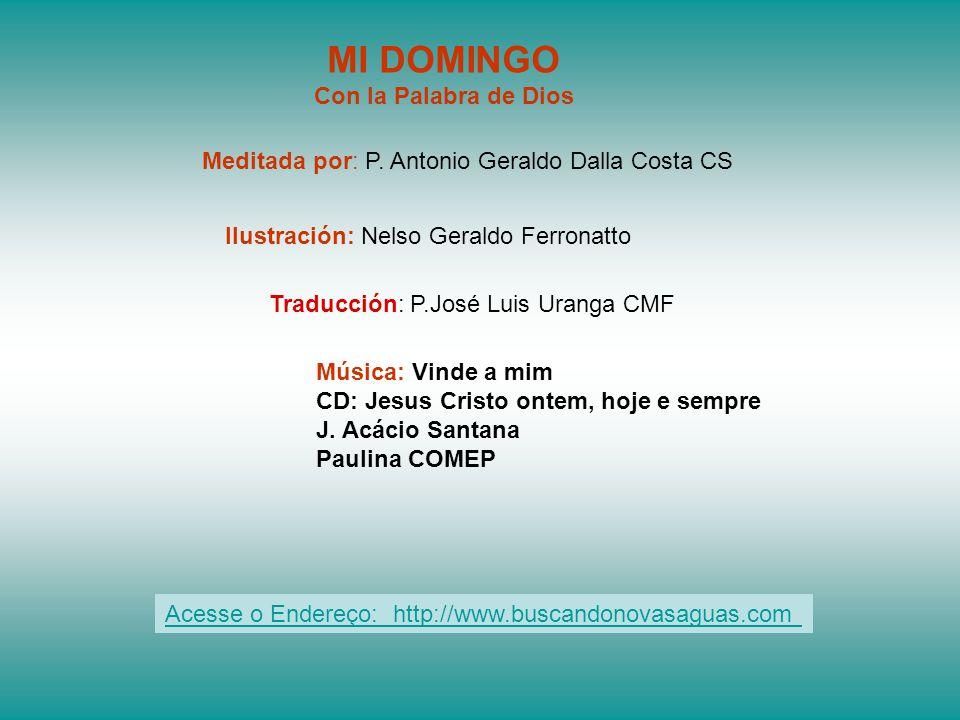 Traducción: P.José Luis Uranga CMF