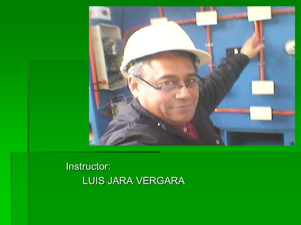 Instructor: LUIS JARA VERGARA