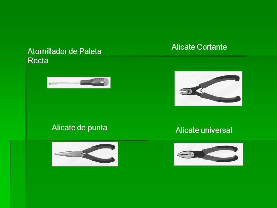 Alicate Cortante Atornillador de Paleta Recta Alicate de punta Alicate universal