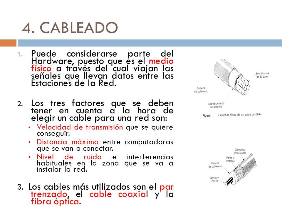 4. CABLEADO