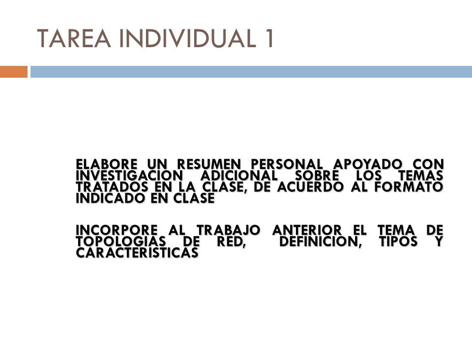 TAREA INDIVIDUAL 1
