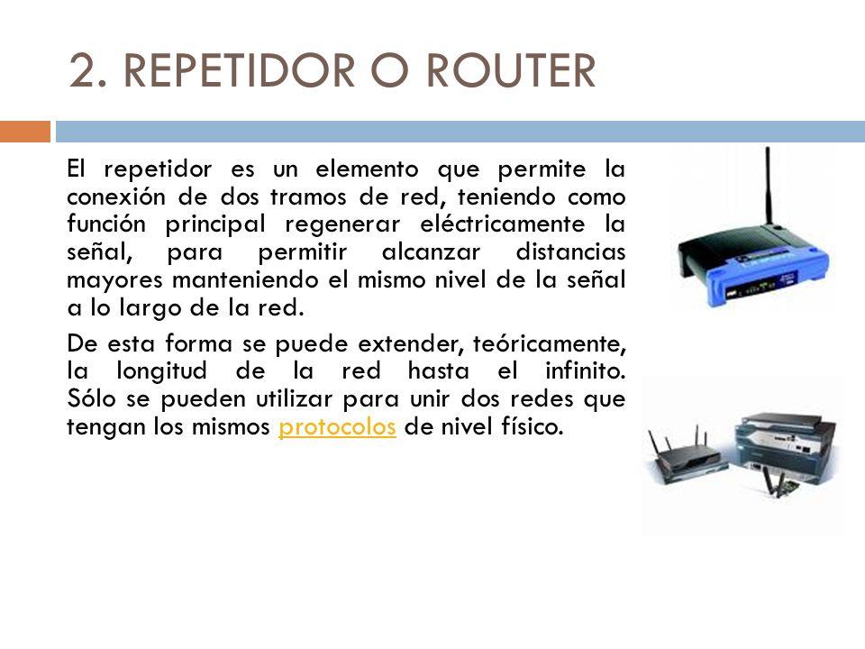 2. REPETIDOR O ROUTER