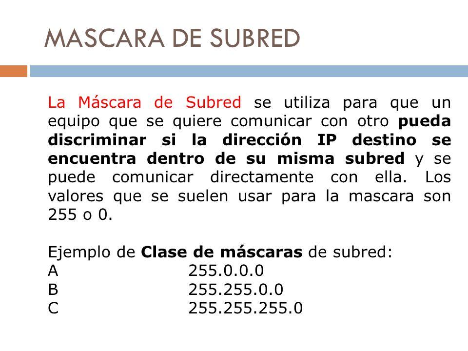 MASCARA DE SUBRED