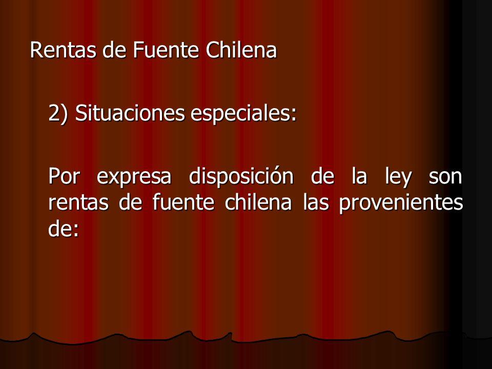 Rentas de Fuente Chilena