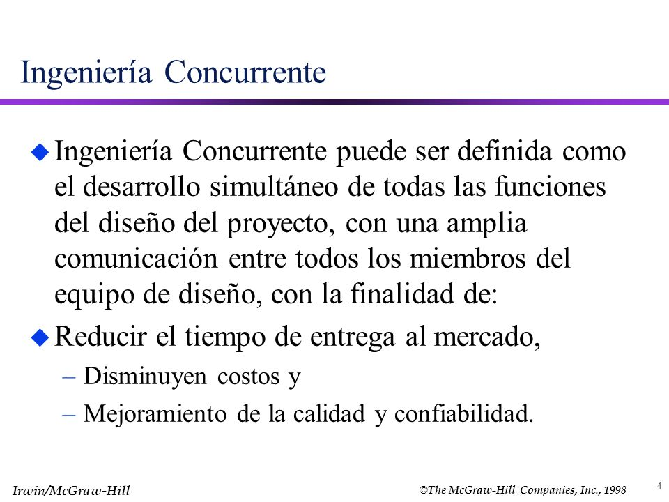 Ingeniería Concurrente