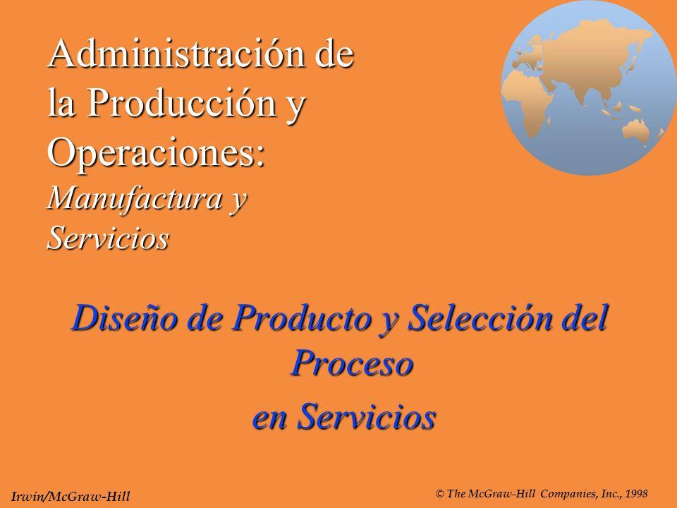 Administración de la Producción y Operaciones: Manufactura y Servicios