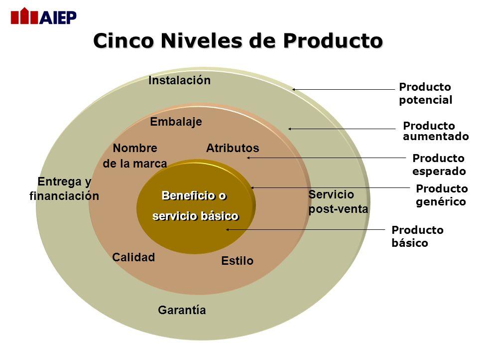 Cinco Niveles de Producto
