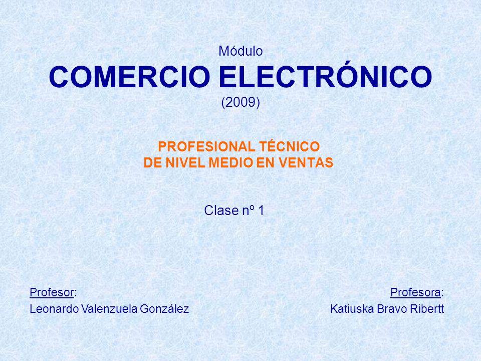 Módulo COMERCIO ELECTRÓNICO (2009)