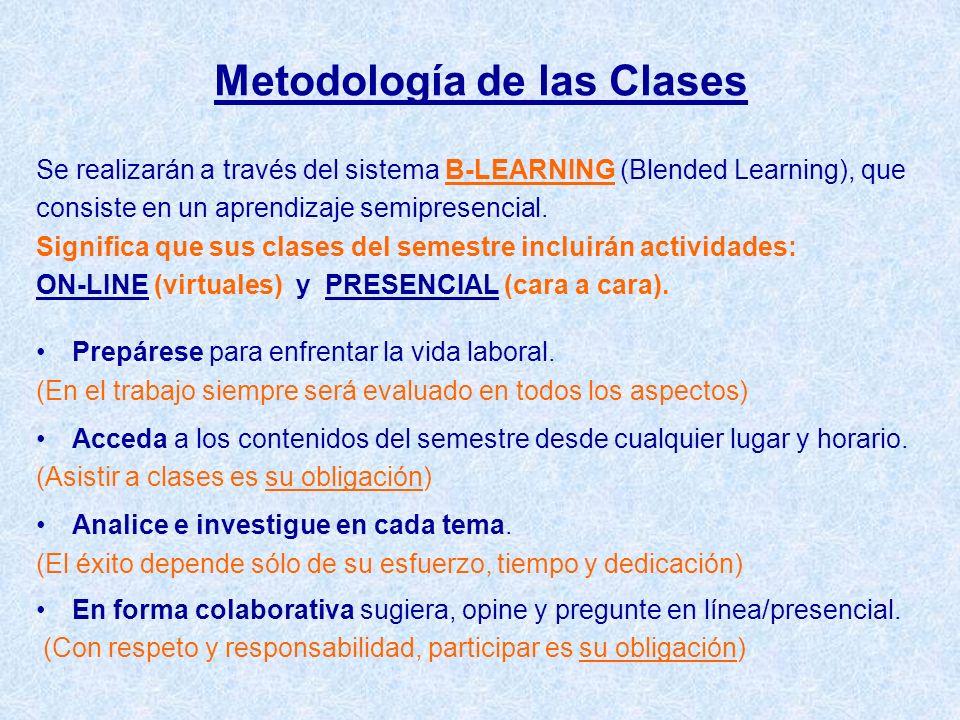 Metodología de las Clases