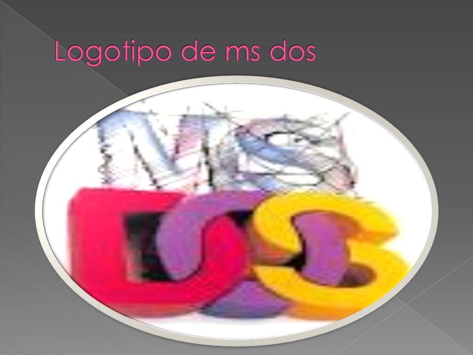 Logotipo de ms dos