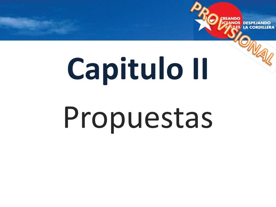 Capitulo II Propuestas