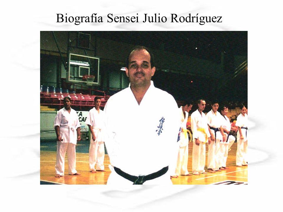 Biografía Sensei Julio Rodríguez