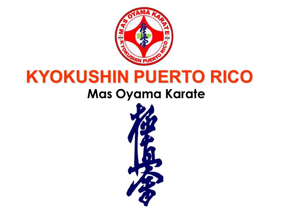 KYOKUSHIN PUERTO RICO Mas Oyama Karate