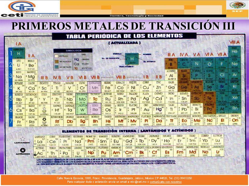 materiales no ferrosos ppt descargar 11 primeros metales de transicin iii flavorsomefo gallery - Tabla Periodica Metales No Ferrosos