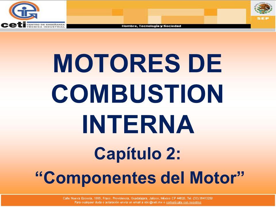 MOTORES DE COMBUSTION INTERNA Componentes del Motor