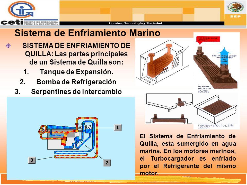 Sistema de Enfriamiento Marino