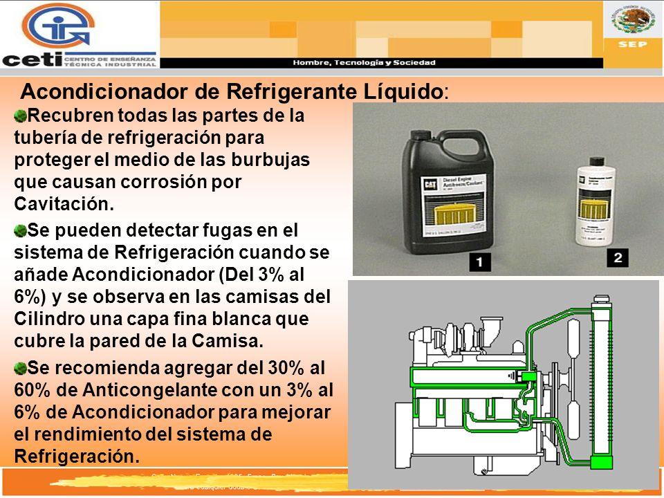 Acondicionador de Refrigerante Líquido: