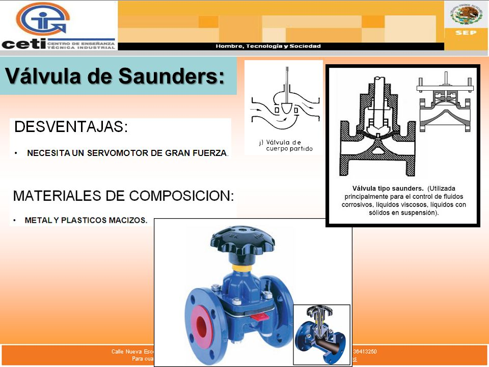 Válvula de Saunders:
