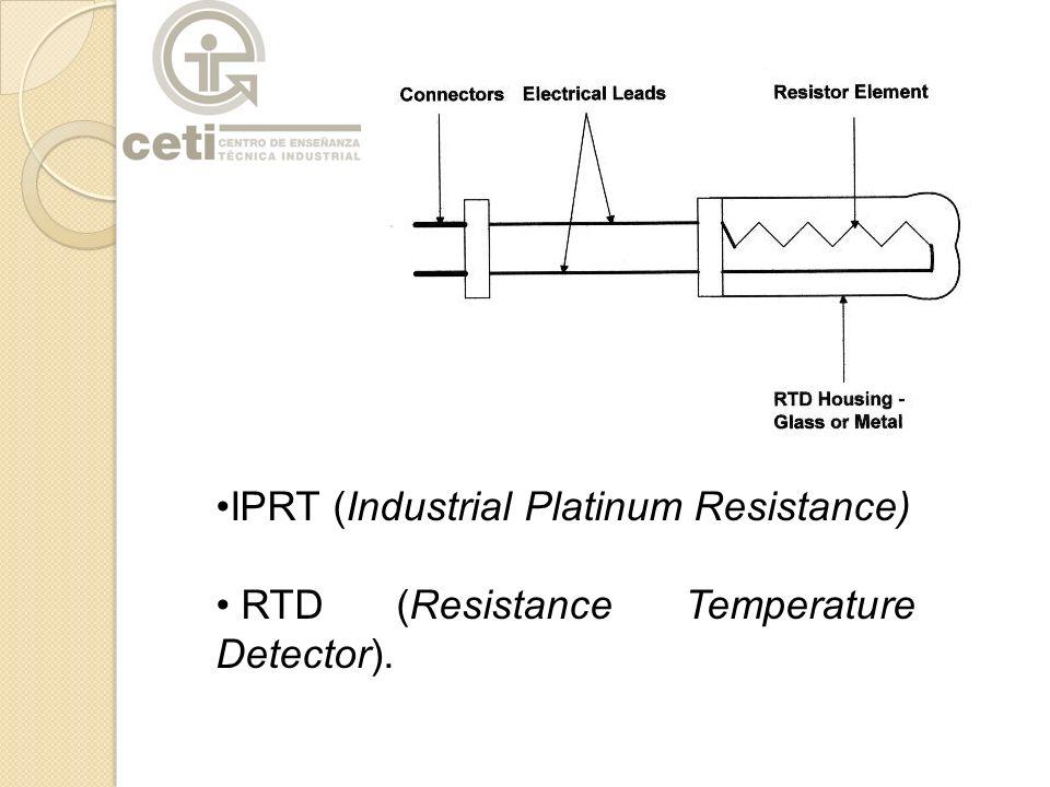 IPRT (Industrial Platinum Resistance)