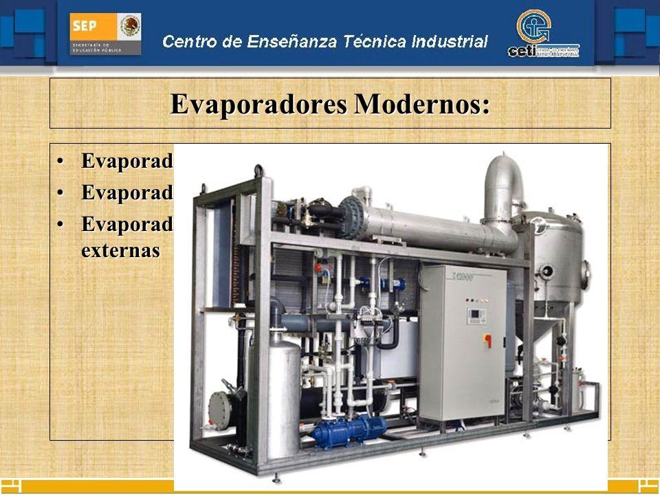 Evaporadores Modernos: