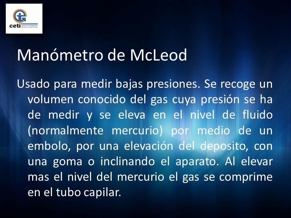 Manómetro de McLeod