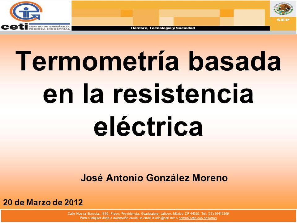Termometría basada en la resistencia eléctrica