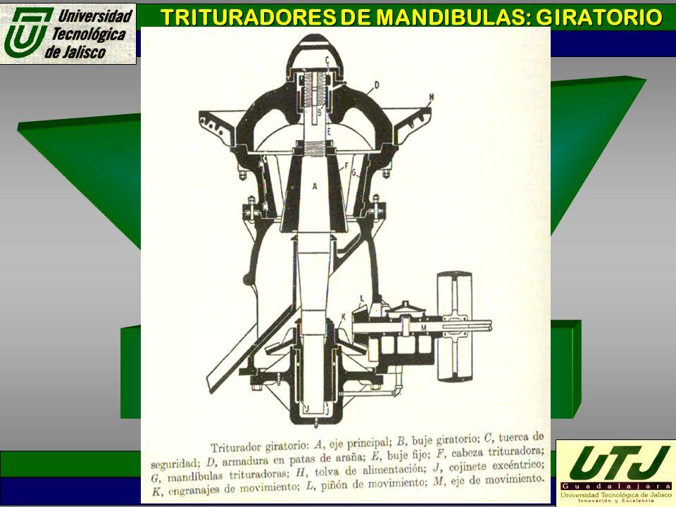 TRITURADORES DE MANDIBULAS: GIRATORIO