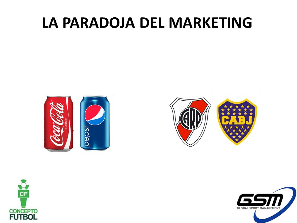 LA PARADOJA DEL MARKETING