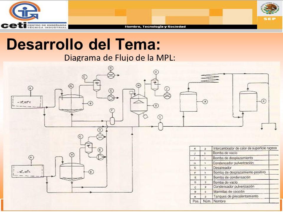Diagrama de Flujo de la MPL: