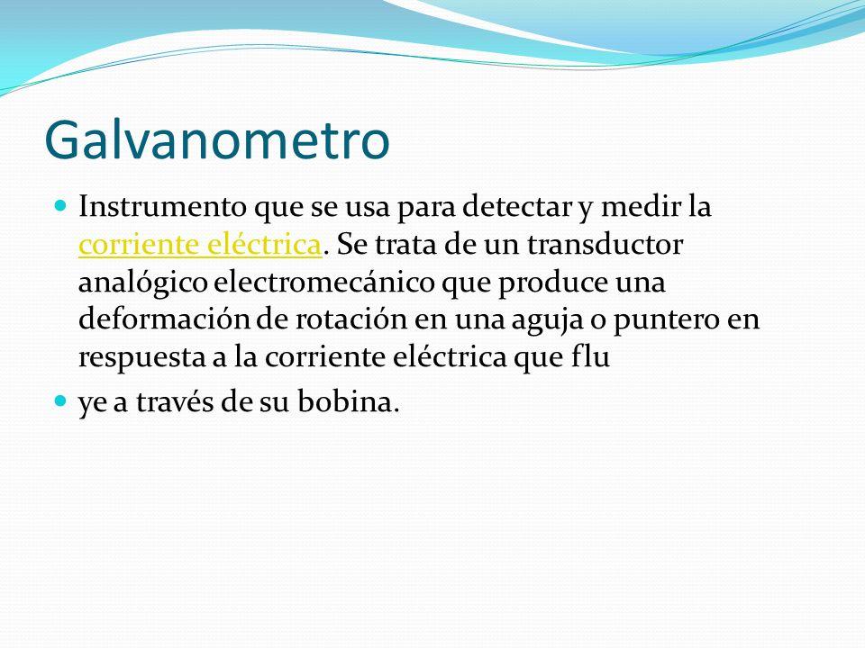 Galvanometro