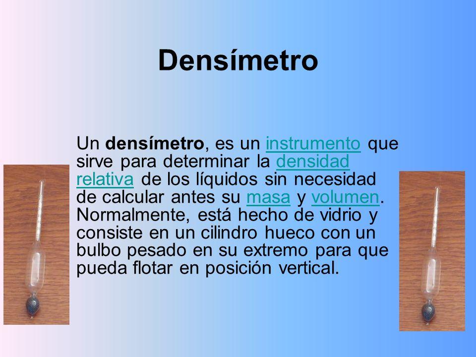 Densímetro