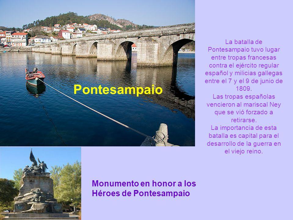 Pontesampaio Monumento en honor a los Héroes de Pontesampaio