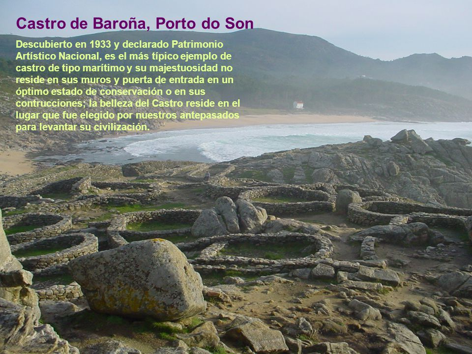 Castro de Baroña, Porto do Son
