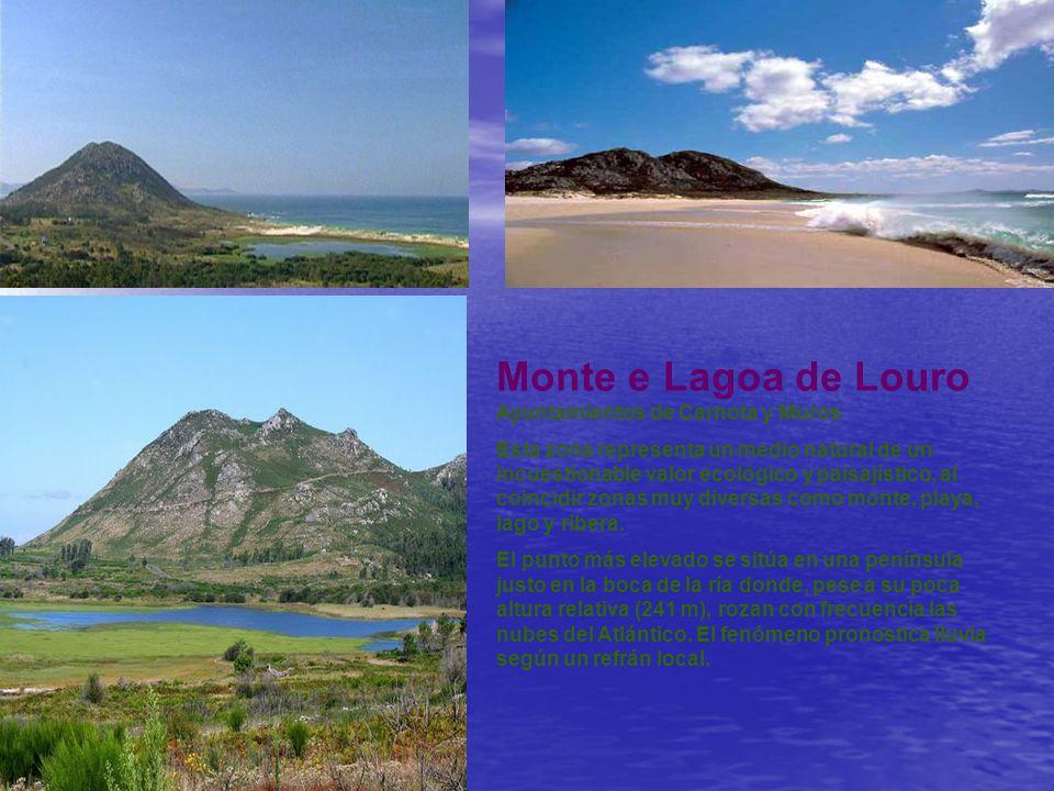Monte e Lagoa de Louro Ayuntamientos de Carnota y Muros