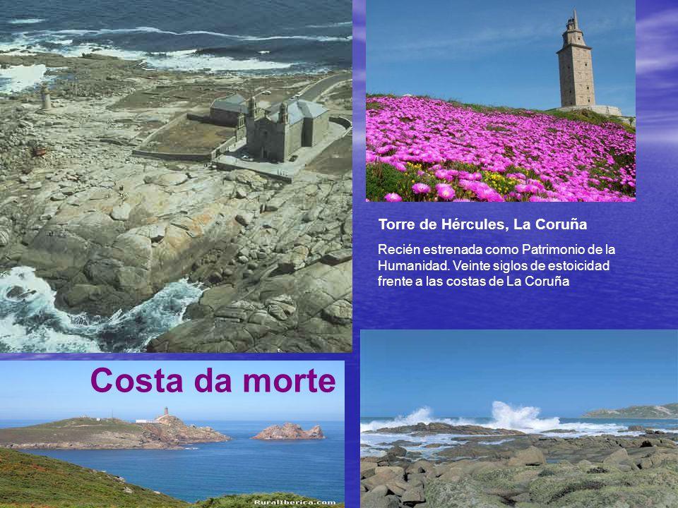 Costa da morte Torre de Hércules, La Coruña