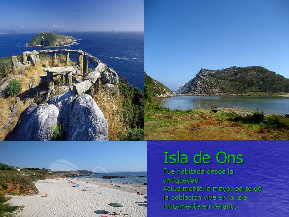 Isla de Ons Fue habitada desde la antigüedad