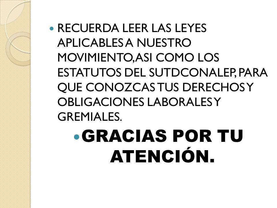 GRACIAS POR TU ATENCIÓN.