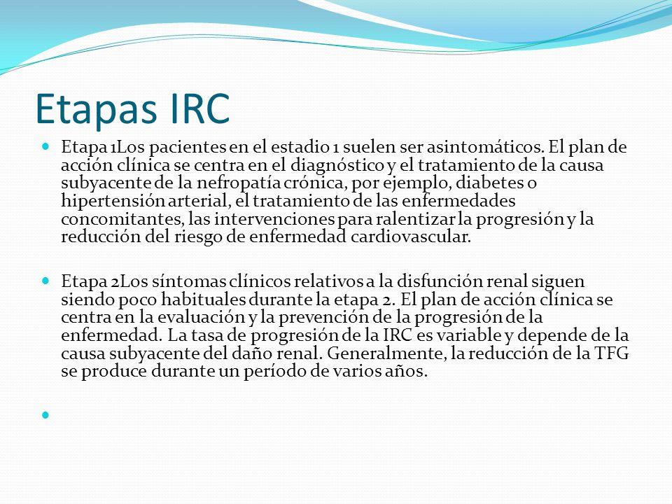 Etapas IRC