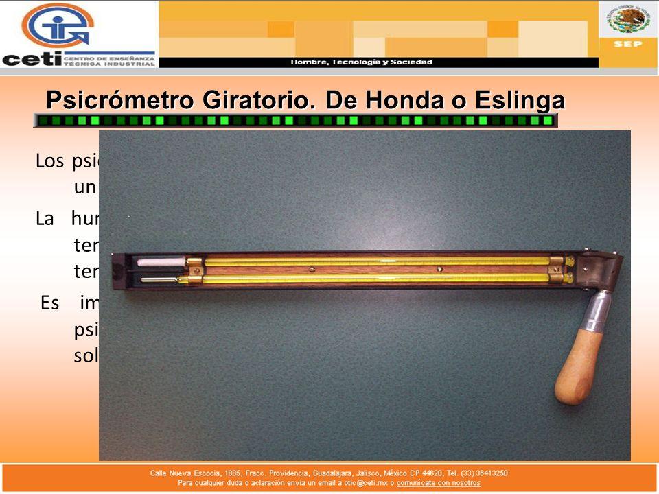 Psicrómetro Giratorio. De Honda o Eslinga