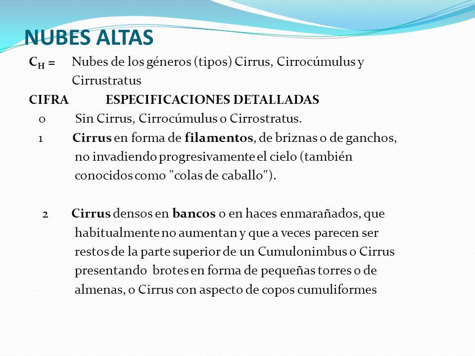 NUBES ALTAS
