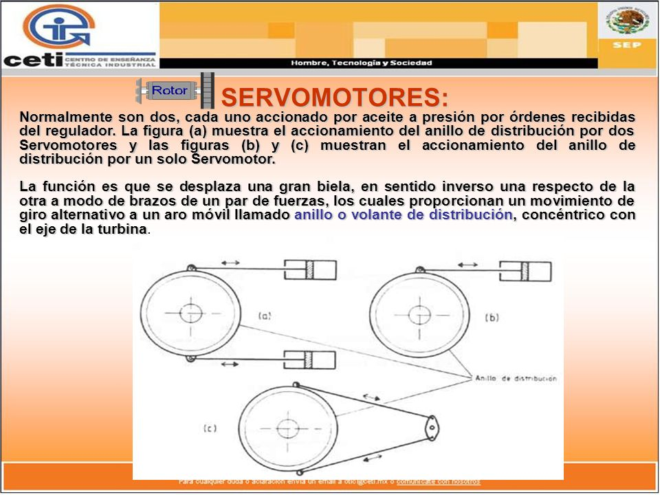 SERVOMOTORES: